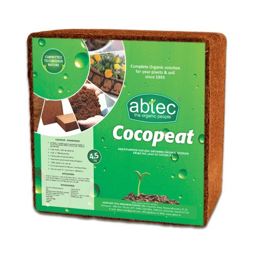 ABTEC Cocopeat Briquette (4.5 Kg)